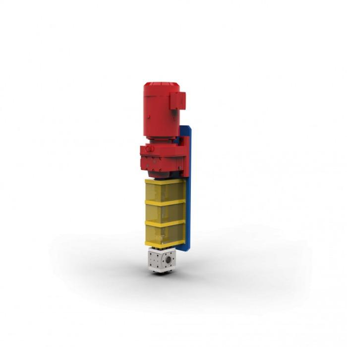 Melt pump - EXTRU III - Melt pump - EXTRU 3 - Low-pulsation conveying of melts in the extrusion
