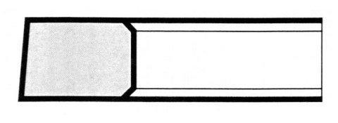 E6 Torsionale Top con superficie inclinata - Segmenti di compressione a Milano