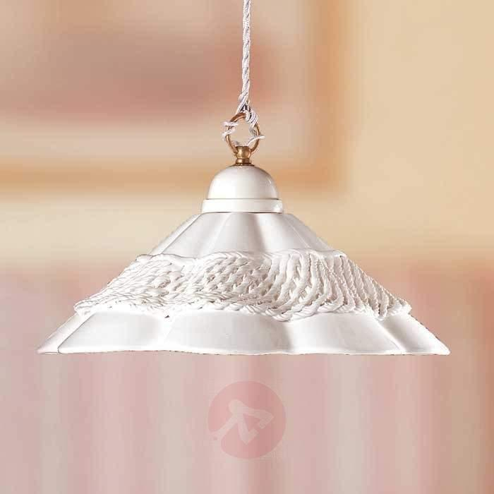 GONNELLA hanging light with a decorative strip - Pendant Lighting