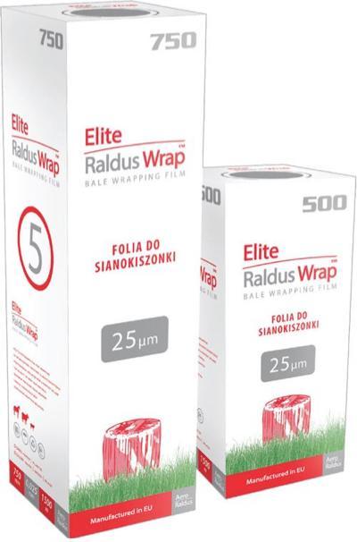 Elite Raldus Wrap Silage Film, Bale Wrapping Film - Silage Film, Stretch Film, Bale Wrapping Film