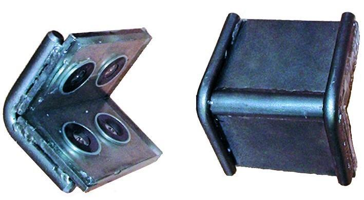 DoLex Schwerlastkantenschutzwinkel mit Magnet und... - Zubehör