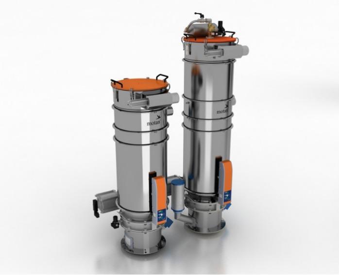 Transportadores grandes - granulados, moídos - METRO G/F/R - Transporte a granel para tremonhas de máquina, tremonhas de secagem