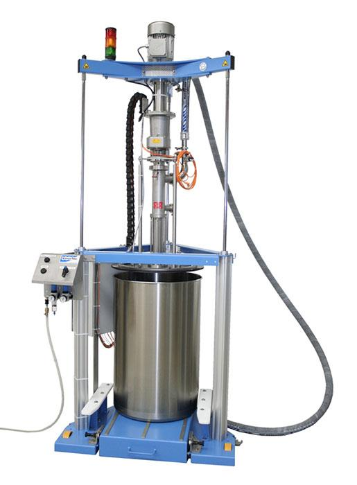 Barrel emptying system ViscoMT-XM  - medium to high viscosity media / product removal