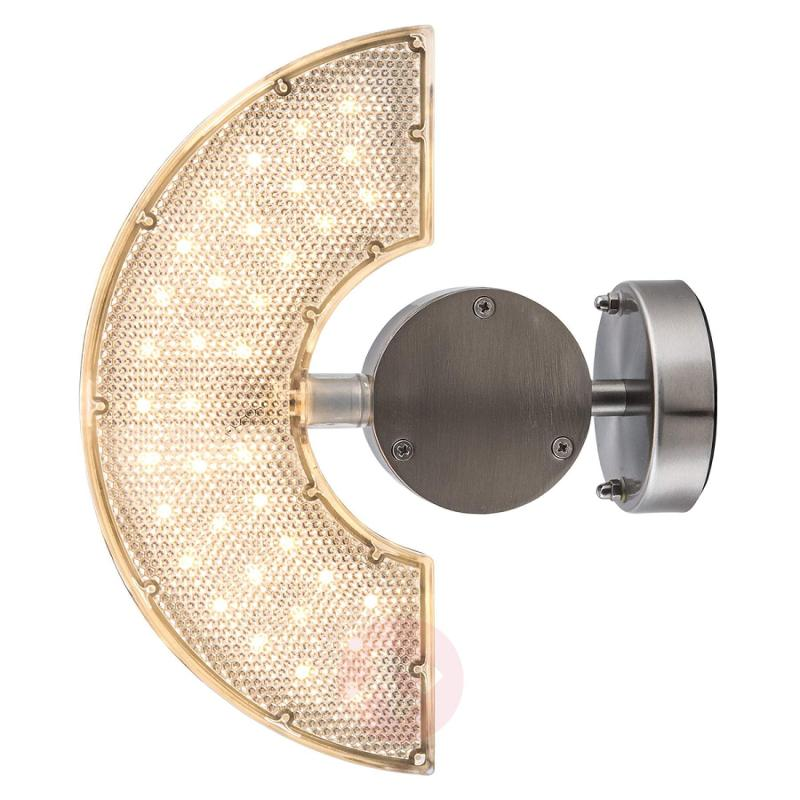 Rotatable LED outdoor wall light Zirkon - stainless-steel-outdoor-wall-lights