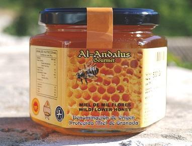 Polyflowers Honey with P.D.O - Miel Milflores con denominación de origen de Granada