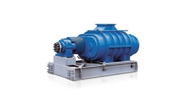 Surpresseurs à pistons rotatifs - Surpresseurs pour gaz process, gamme GR