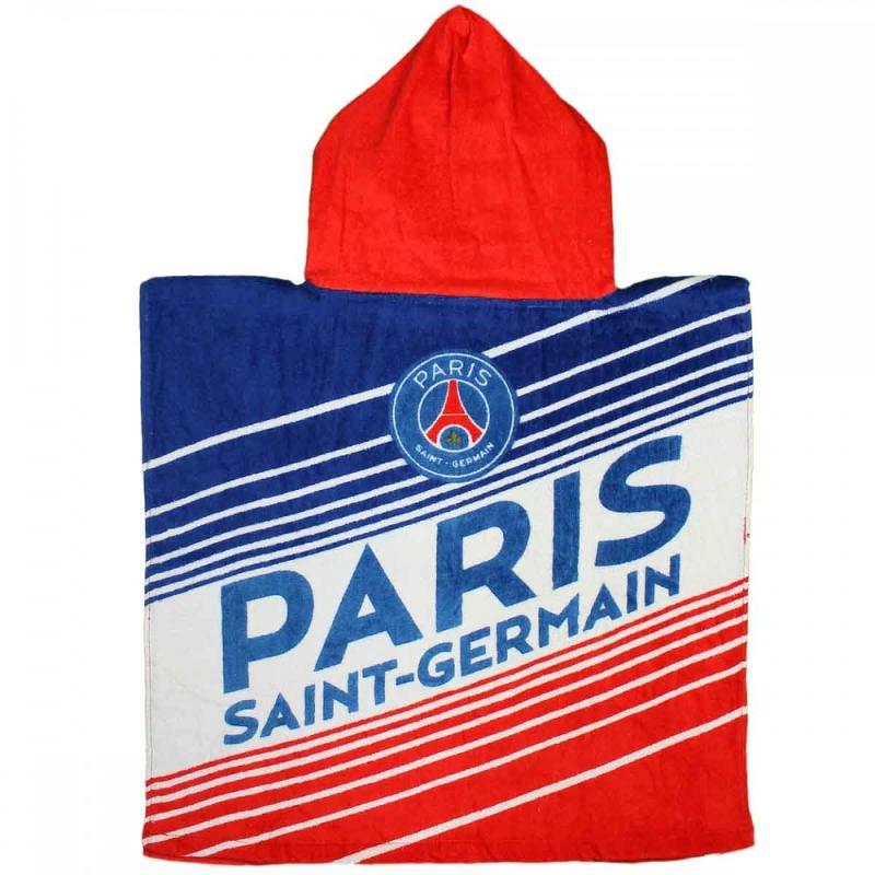 6x Serviettes poncho Paris Saint Germain 50x100 - Serviette