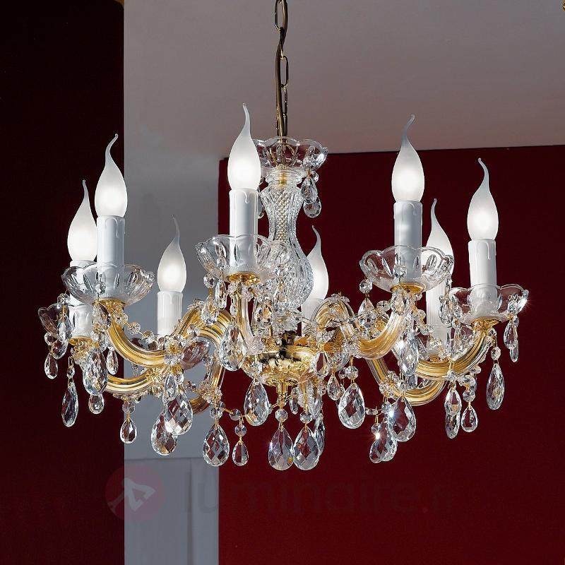 Fabuleux lustre DOLORES 8 lumières - Lustres classiques,antiques
