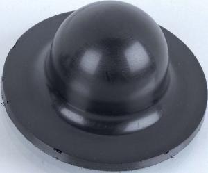 Handschleifteller formverschäumt in Halbkugelform - Für Flächen- und Radienschliff, Klettsystem