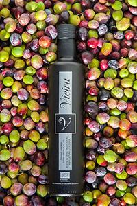 Huile d'olive extra vierge BIO - Olives 100% mazanilla VERTES & MATURES