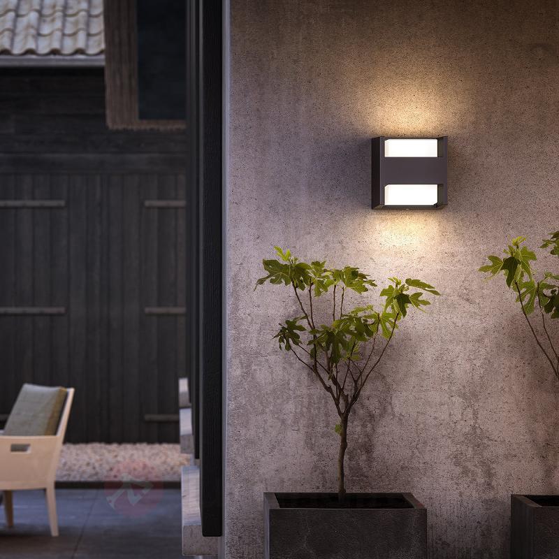 Applique LED Arbour à 2 lampes, IP44 - Appliques d'extérieur LED