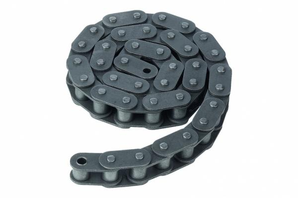 Roller chains - Roller chains single DIN ISO 606, curved link or straight link plate