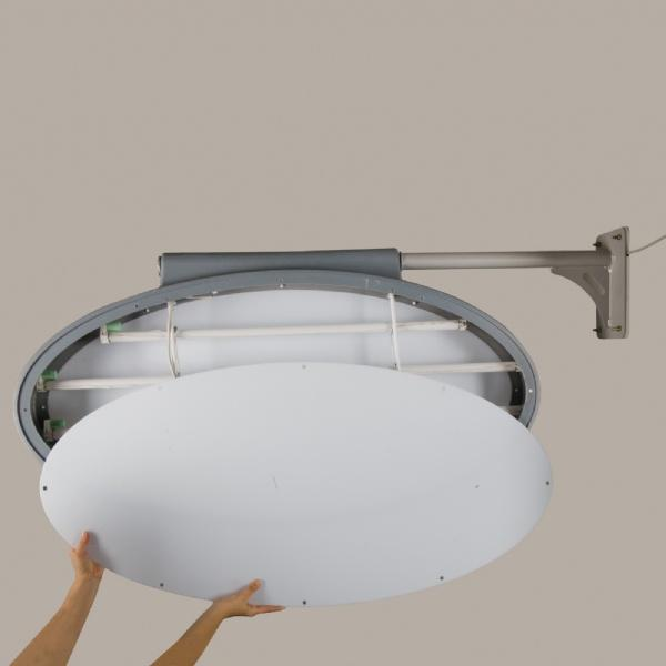 Light Frames - Enseigne Lumineuse Eliptique