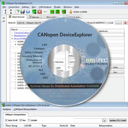 CANopen DeviceExplorer - Industrial Communication