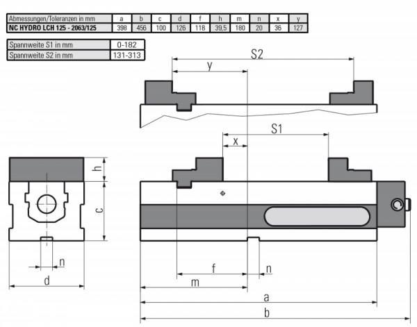 NC Version LCH 125 HYDRAULISCH - Automatisierung von Bearbeitungszentren–besonders für Serienfertigung geeignet