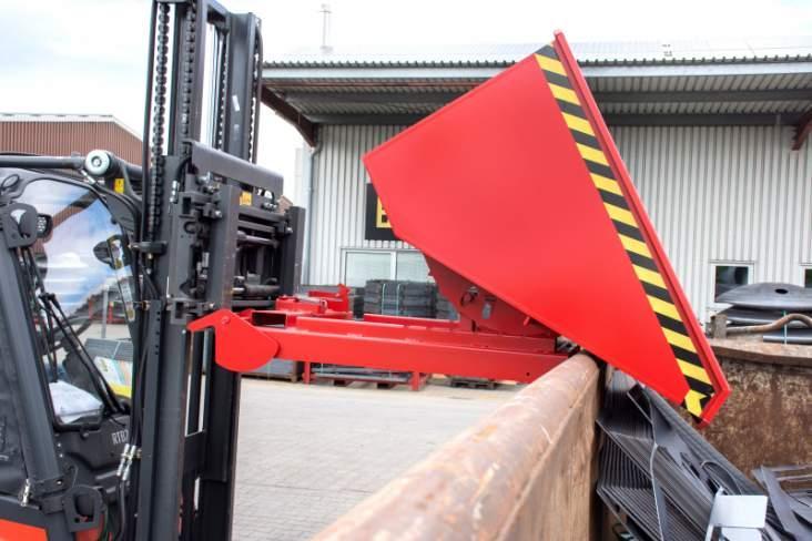 Kippbehälter Typ 4A - Kippbehälter mit automatischer Entriegelung und automatischer Sicherung