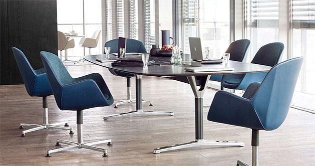Konferenzstühle Pulse mit Sitzschale - null