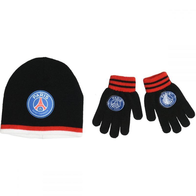 6x Bonnets et gants Paris Saint Germain - Bonnet Gant Echarpe