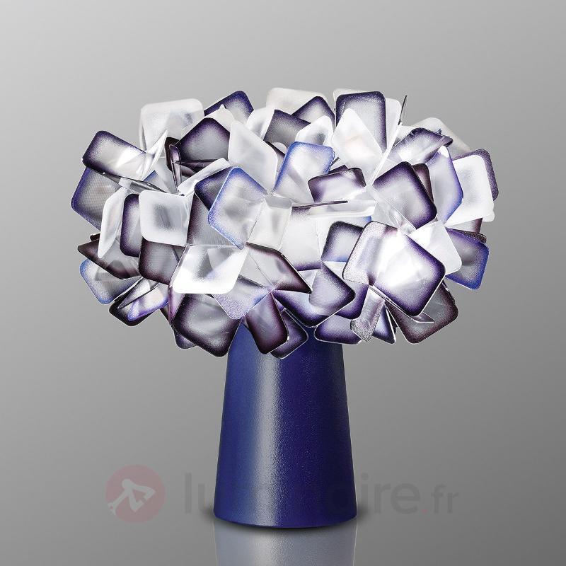 Incroyable lampe à poser Clizia, prune - Lampes à poser designs
