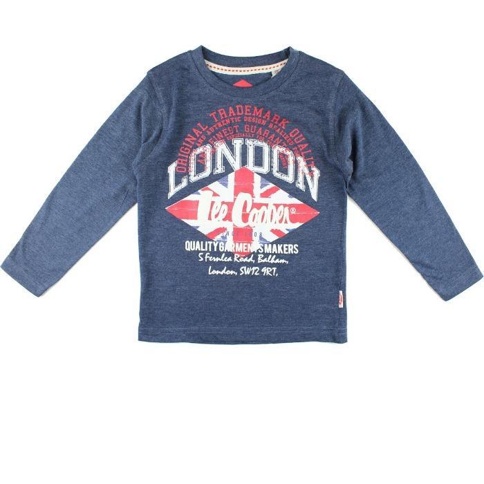 Mayorista Europa Camiseta Lee Cooper Niño - Camiseta y Polo de manga larga