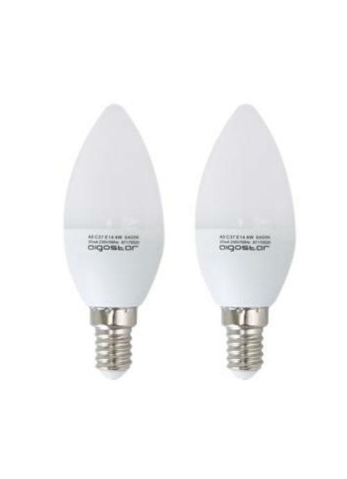Lampadine LED E14 - 3/4/5/6W opaca 6400K 255/340/425/500lm