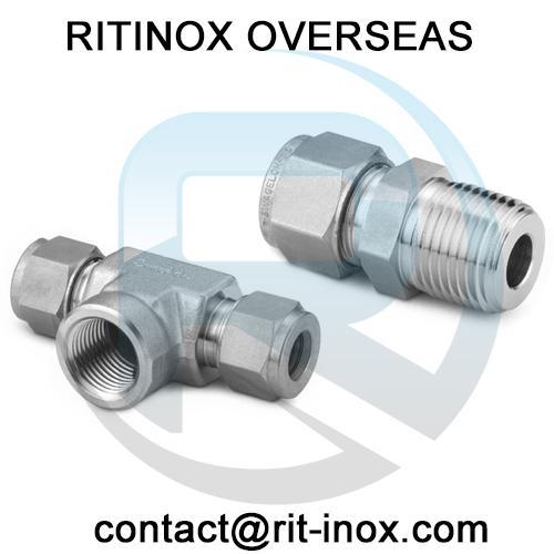 Titanium Gr 2 Compression Fittings -