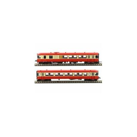 TRAIN AUTORAIL X4316 + XR8312 LS MODELS SNCF ECHELLE HO