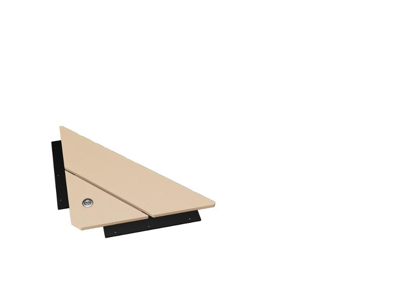 Tablette coin + USB Gecko - catalogue horeca