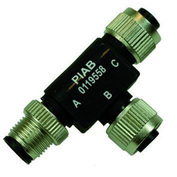 accessoires systemes - Connecteur-T M12