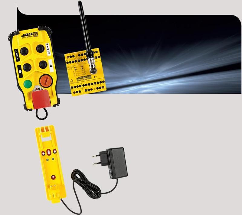 Wireless emergency stop - Emergency stop RS
