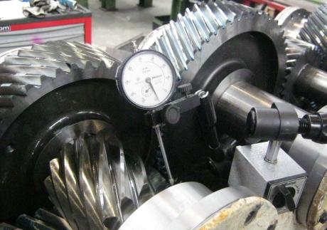 GEARBOXES - Planetary type, Bull gear type, maintenance & repairs