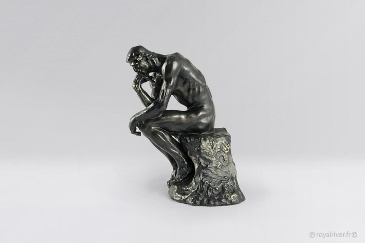 the thinker by auguste rodin - objet