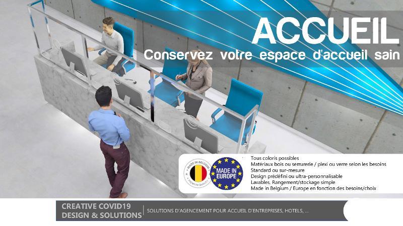 SOLUTION D'AGENCEMENT POUR ACCUEIL D'ENTREPRISES, HÔTELS... - null