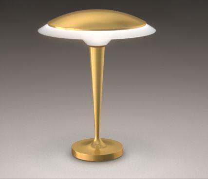 Lampe de table -  art déco Modèle 514