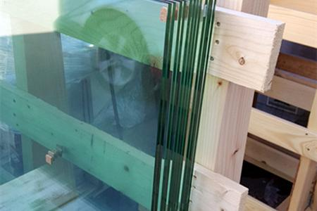 Laminated glass -