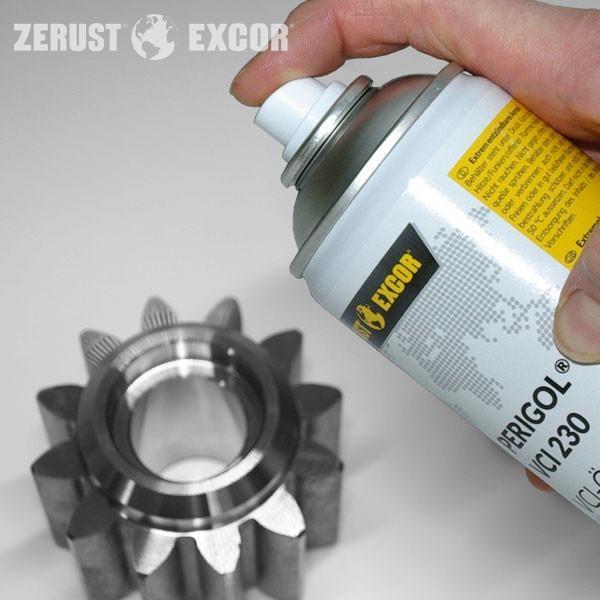 Óleo de protecção anticorrosiva PERIGOL VCI 230 - Óleo como dispensador de protecção volátil contra a corrosão para cavidades