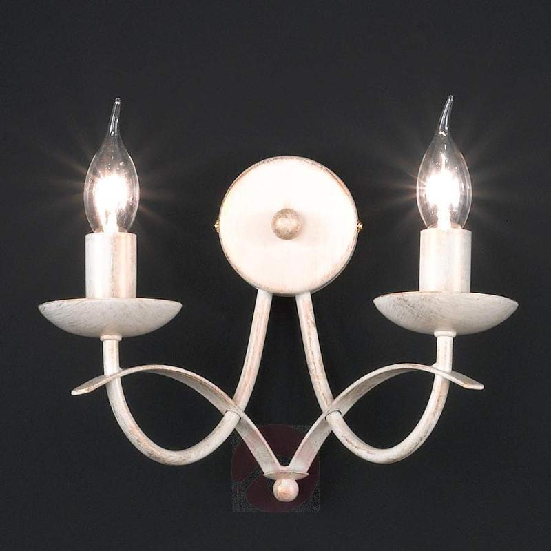 Beautiful two-bulb wall lamp Hannes - Wall Lights