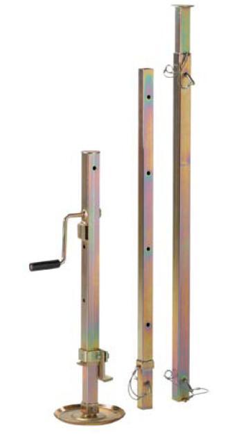 haacony 8214 - Treuil universel et système de serrage avec broche autobloquante