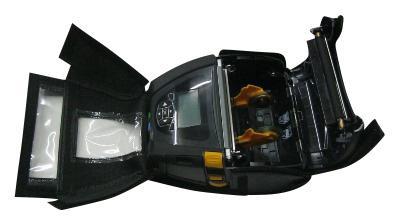 Max Michel Schutztasche für Zebra ZQ630 Mobildruck - Schutztasche aus Leder