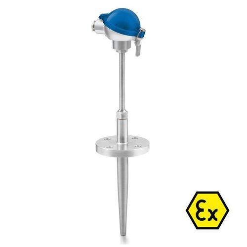 OPTITEMP TCA-TF31 - Flange thermocouple / abrasion-resistant