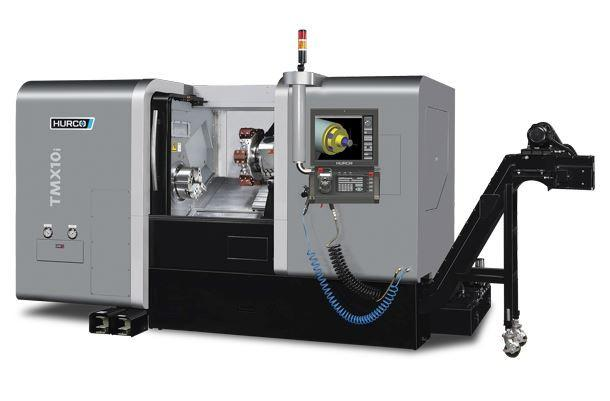 Multi-Axis-Lathe - TMX 10i - The ideal machine for machining complete medium-sized parts in one set-up