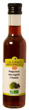 Organic Red Wine Vinegar Shallot Flavoured 6 % acidity