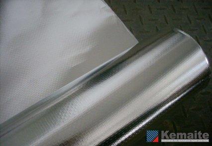 Aluminiumfaserlaminat (Wärmedämmfolie) - null