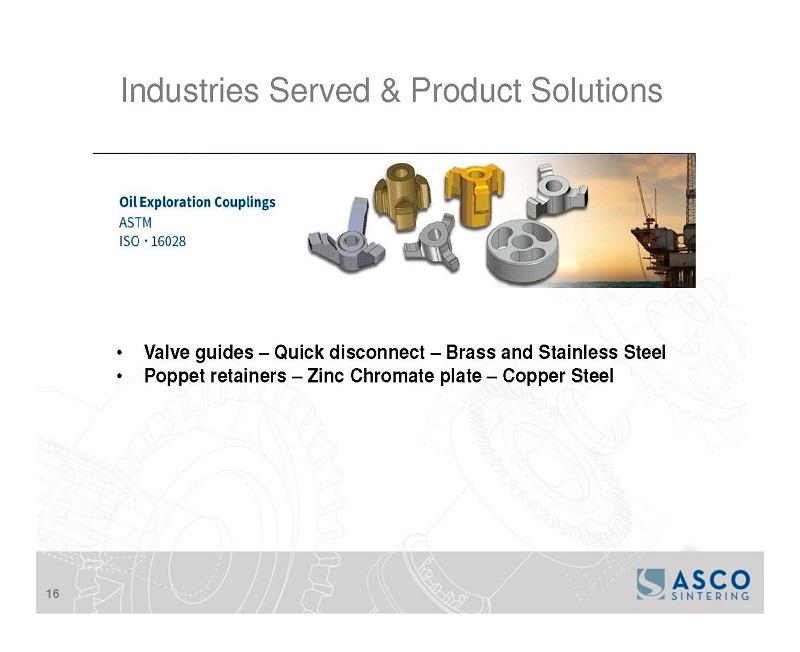 Fluid Power, Oil, and Gas Exploration - Fluid Power Systems, Quick Release Valve guides, Poppet Retainers