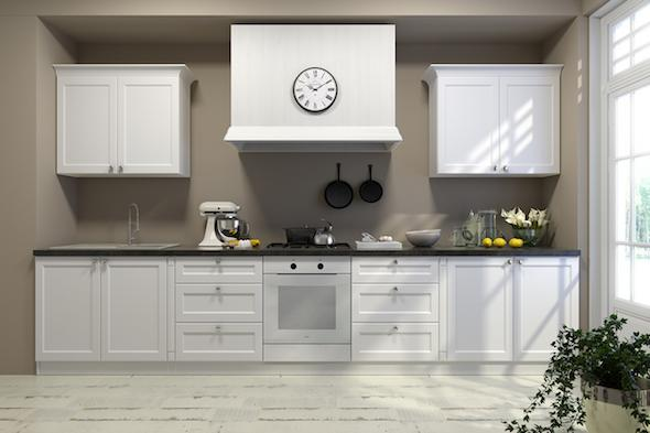 Classic kitchen with London-style fronts -