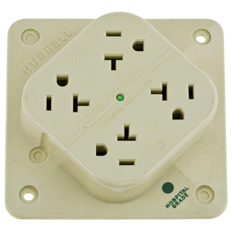 Power Quality & Conversion - Surge Protection Receptacles - HBL420HIS