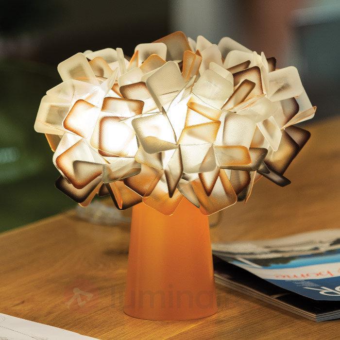 Clizia - lampe à poser de designer, orange - Lampes à poser designs