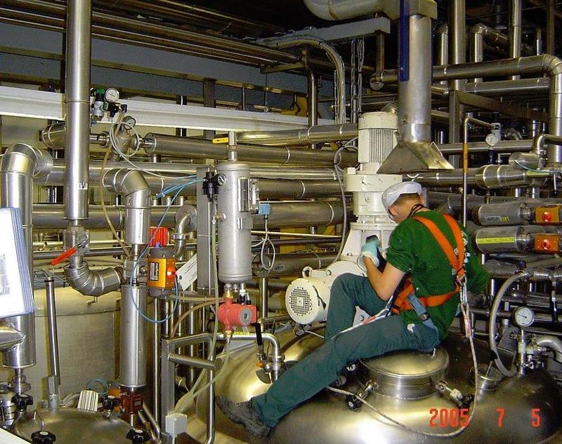 Nettoyage Cryogénique au CO² - Nettoyage d'installations industrielles