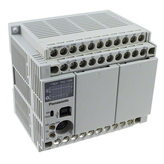 CONTROL LOG 16 IN 14OUT 100-240V - Panasonic Industrial Automation Sales AFPX-C30T