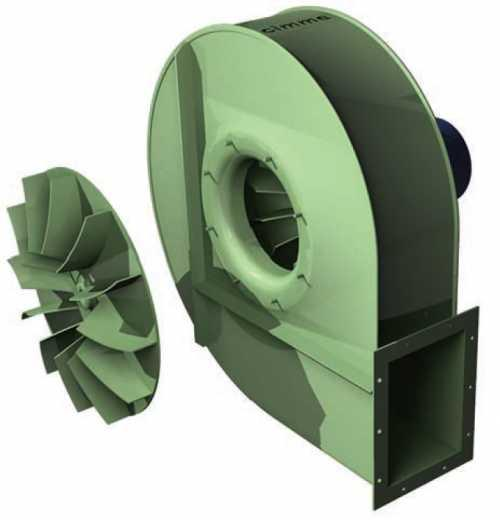GBT • Ventilateur moyenne pression type GBT - Transmission directe - null